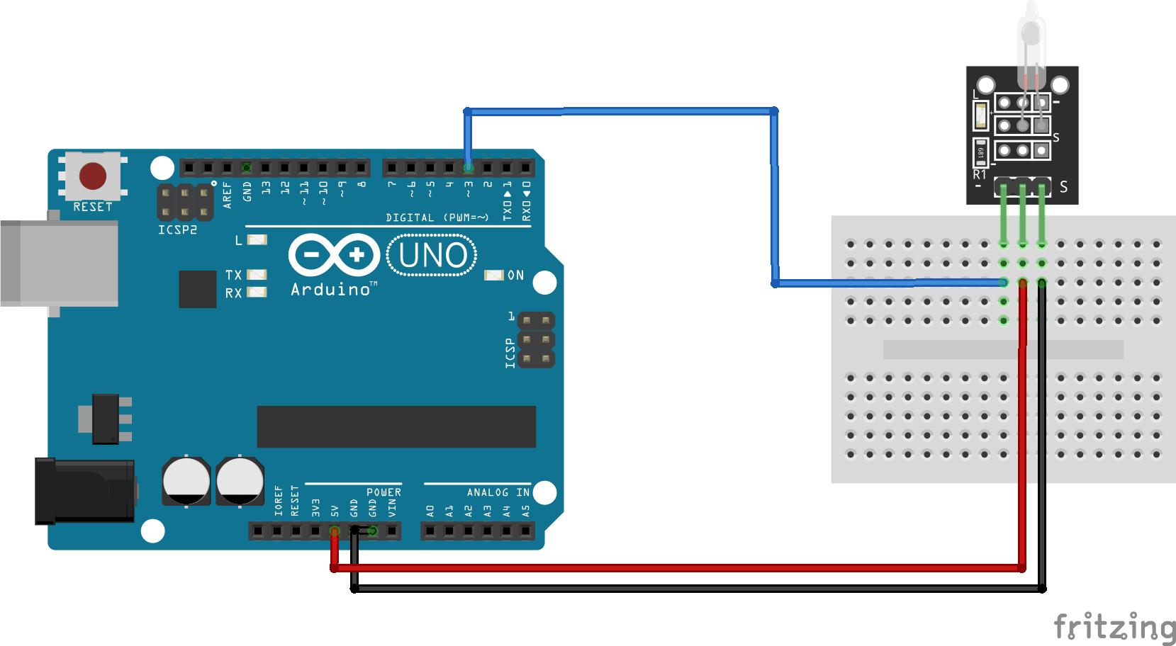 KY-017 Arduino connection diagram