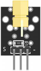 KY-008 Fritzing custom part image
