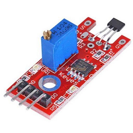 KY-024 Linear Magnetic Hall module - ArduinoModulesInfo