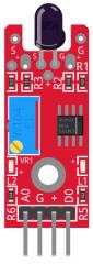 KY-026 flame detector sensor module fritzing part