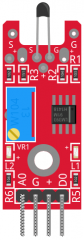 KY-208 digital temperature sensor module fritzing part